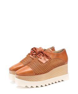 Stella Mccartney | Ботинки Из Эко-Кожи С Плетением На Платформе