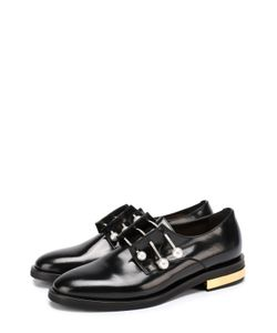 Coliac | Кожаные Ботинки С Декорированными Булавками
