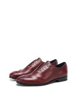 Lanvin | Кожаные Ботинки С Декором Без Шнуровки