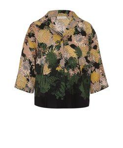 Dries Van Noten | Шелковая Блуза С Цветочным Принтом