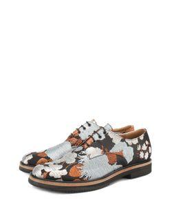 Dries Van Noten | Текстильные Ботинки С Вышивкой