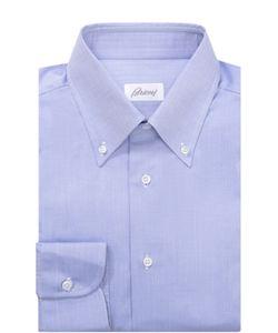 Brioni | Хлопковая Сорочка С Воротником Button Down