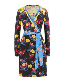 Diane Von Furstenberg | Шелковое Платье С Запахом И Принтом