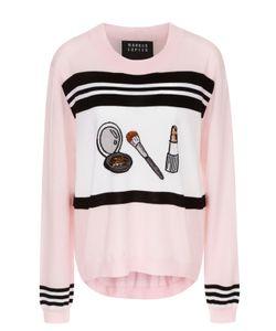 Markus Lupfer | Пуловер С Удлиненной Спинкой И Контрастным Принтом