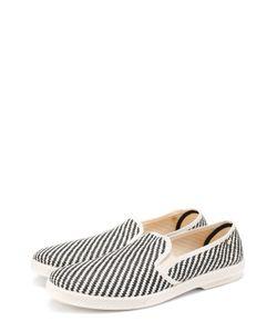 Rivieras Leisure Shoes | Плетеные Эспадрильи С Узором