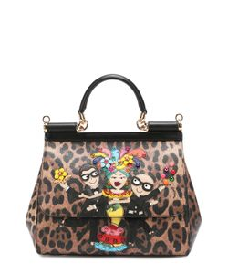 Dolce & Gabbana | Сумка Sicily Medium С Аппликацией Dg Family