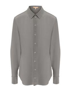 Michael Kors | Приталенная Шелковая Блуза