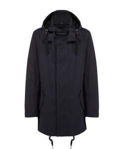 Lanvin | Хлопковая Куртка На Молнии С Капюшоном