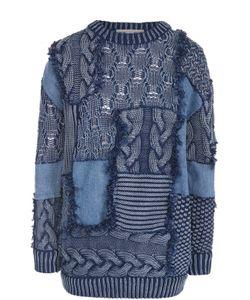 Stella Mccartney | Пуловер Фактурной Вязки С Круглым Вырезом