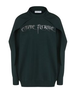 Balenciaga | Пуловер Свободного Кроя С Кейпом