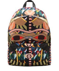 Givenchy | Текстильный Рюкзак С Принтом И Внешним Карманом На Молнии