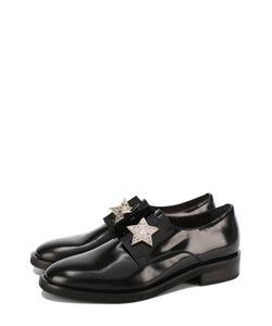 Coliac | Кожаные Ботинки С Брошами