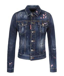 Dsquared2 | Джинсовая Куртка С Потертостями