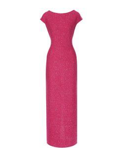 St. John | Платье-Макси С Пайетками И Разрезом
