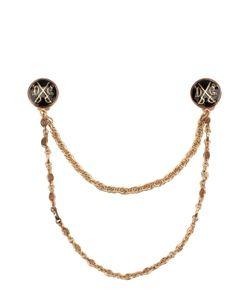 Dolce & Gabbana | Брошь Для Воротника С Цепью
