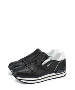 Hogan | Кожаные Кроссовки С Бахромой
