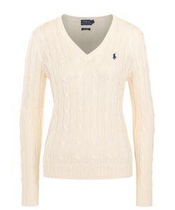 Polo Ralph Lauren | Пуловер Фактурной Вязки С Логотипом Бренда