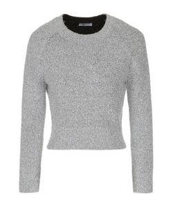 Balenciaga | Укороченный Вязаный Пуловер С Круглым Вырезом