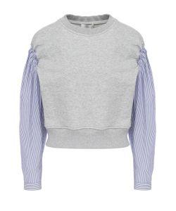 3.1 Phillip Lim | Укороченный Пуловер С Рукавами В Полоску
