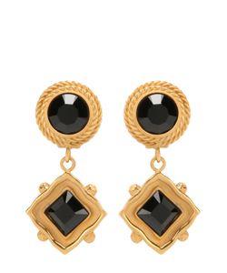 Dolce & Gabbana | Серьги-Клипсы С Кристаллами Swarovski