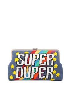 Sarah's Bag | Клатч Super Duper С Вышивкой Бисером