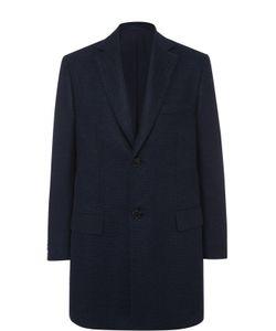 Brioni | Однобортное Пальто Из Смеси Шерсти И Кашемира С Шелком