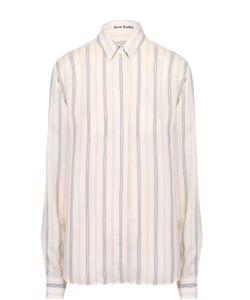Acne | Блуза Прямого Кроя С Полоску