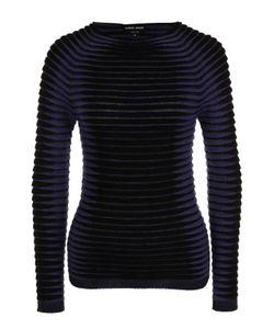 Giorgio Armani | Пуловер Фактурной Вязки С Круглым Вырезом