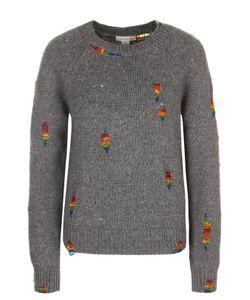 Marc Jacobs | Пуловер С Круглым Вырезом И Контрастной Вышивкой