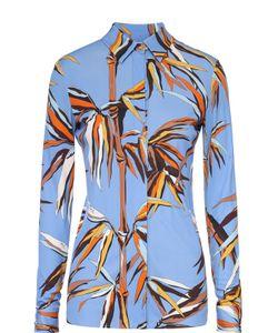Emilio Pucci | Приталенная Блуза С Контрастным Принтом
