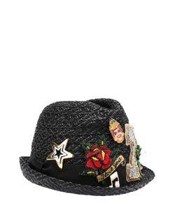 Dolce & Gabbana   Шляпа С Декоративной Отделкой