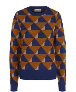 Dries Van Noten | Пуловер Прямого Кроя С Принтом