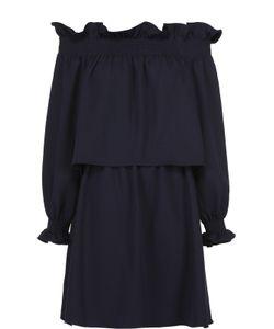 Diane Von Furstenberg | Мини-Платье С Открытыми Плечами