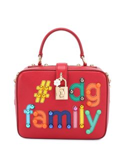 Dolce & Gabbana   Сумка Dolce Soft С Аппликацией Dg Family