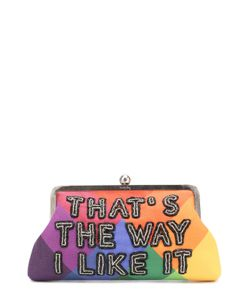 Sarah's Bag | Клатч Thats The Way I Like It С Вышивкой Бисером Sarahs