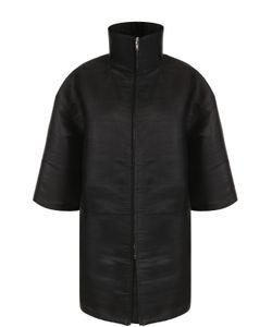 Rick Owens | Укороченное Пальто Свободного Кроя На Молнии