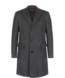 Windsor   Однобортное Пальто Из Смеси Шерсти И Шелка