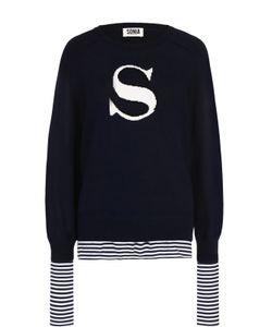 Sonia By Sonia Rykiel | Пуловер Свободного Кроя С Круглым Вырезом