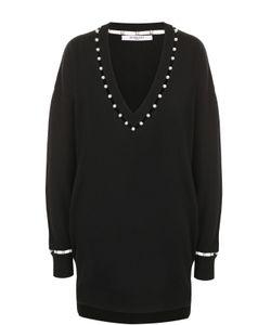 Givenchy   Пуловер Свободного Кроя С V-Образным Вырезом