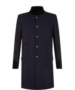 Just Cavalli | Однобортное Пальто Из Смеси Шерсти И Кашемира