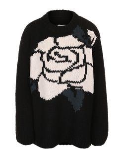 MM6 by Maison Margiela | Пуловер Свободного Кроя С Круглым Вырезом