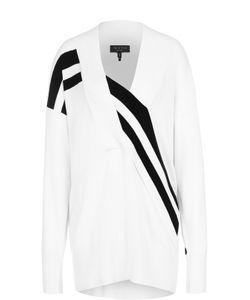 Rag & Bone | Удлиненный Пуловер Со Спущенным Рукавом И Контрастной Отделкой Ragbone