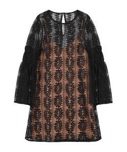 Michael Michael Kors | Кружевное Мини-Платье С Расклешенными Рукавами