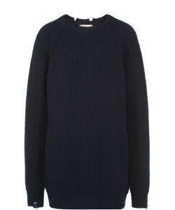Erika Cavallini | Удлиненный Пуловер Свободного Кроя С Круглым Вырезом