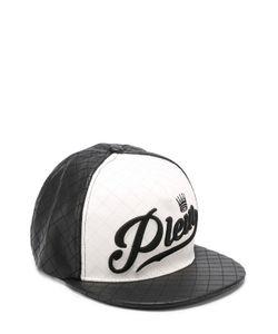 Philipp Plein | Стеганая Бейсболка С Вышивкой И Контрастной Отделкой
