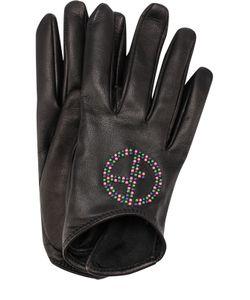 Giorgio Armani | Кожаные Перчатки С Декоративной Отделкой