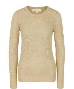 Michael Michael Kors | Пуловер Фактурной Вязки С Круглым Вырезом