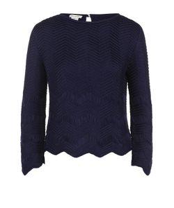 Oscar de la Renta | Шелковый Пуловер Фактурной Вязки