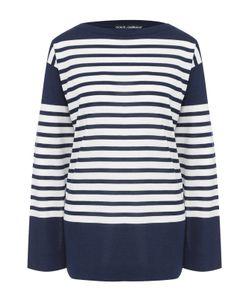 Dolce & Gabbana | Шелковый Пуловер Свободного Кроя В Полоску