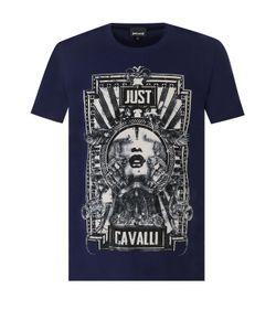 Just Cavalli | Хлопковая Футболка С Принтом